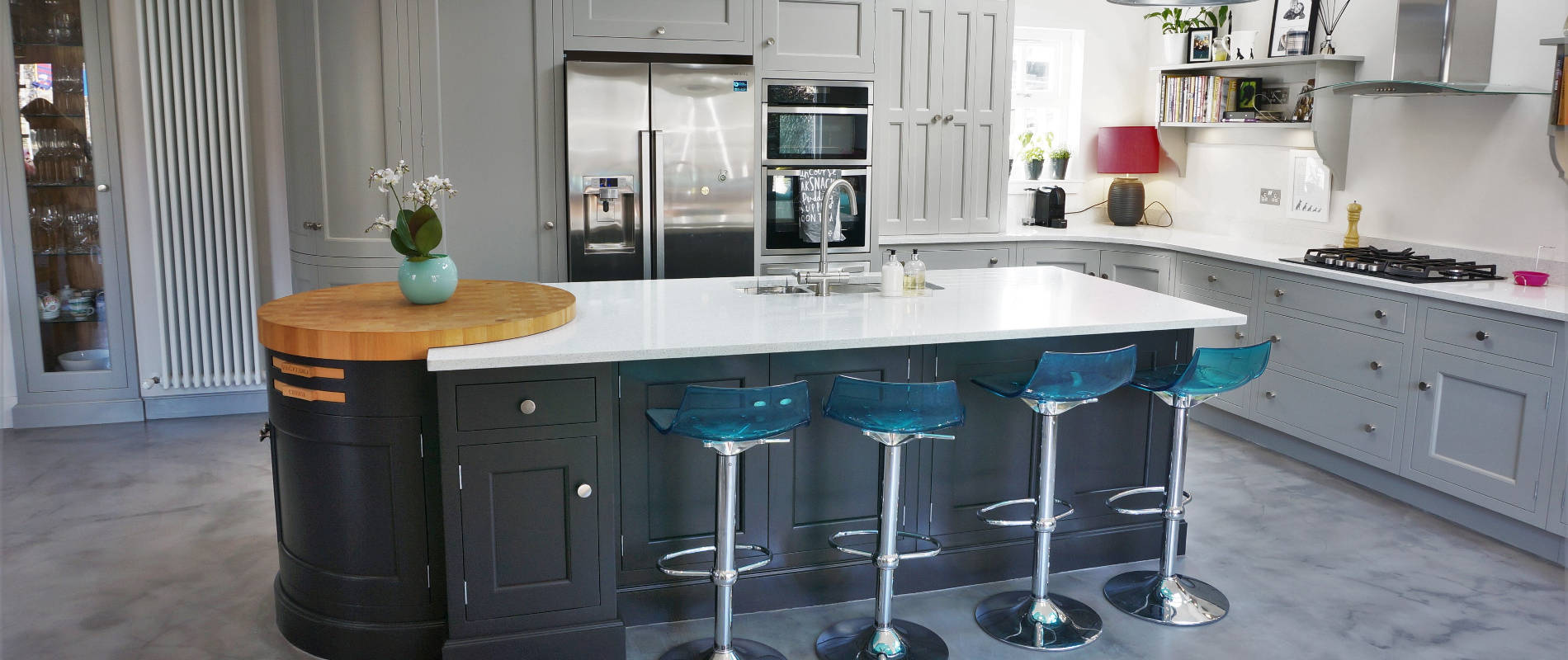Studio carpentry handmade bespoke kitchens and fitted for Kitchen ideas edinburgh
